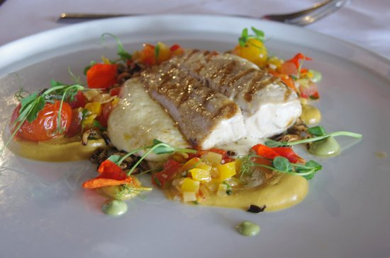 Mudbrick Vineyard Restaurant: Main course - Mahi fillet