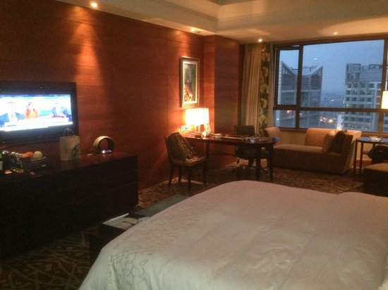 JinJiang Hotel : Nice, spacious room.