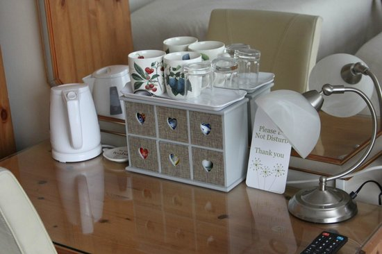 Fleetwater Guest House: Selection of teas in the room
