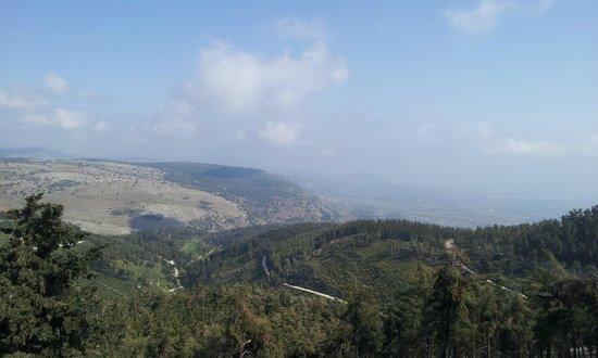 Hotel Mitzpe Hayamim: Area view