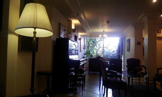 Hotel Mitzpe Hayamim: Lounge