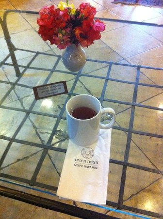 Hotel Mitzpe Hayamim: Afternoon tea