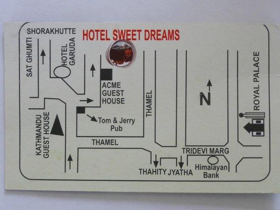 Hotel Sweet Dreams : rough map