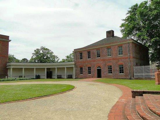 North Carolina History Center - Tryon Palace: front view