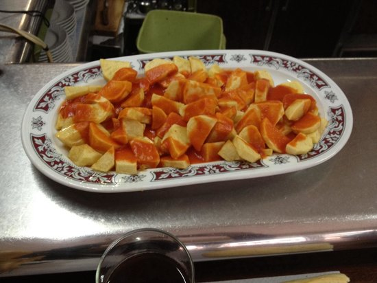 Restaurante Azpiazu: Ricas bravitas!!!