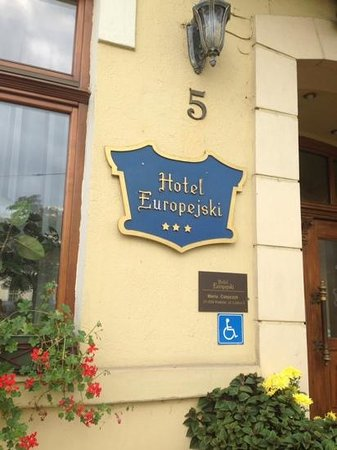 Europejski Hotel : Hotel Europejski