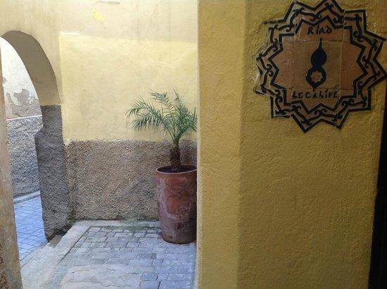 Riad Le Calife : Entrance to Le Calife