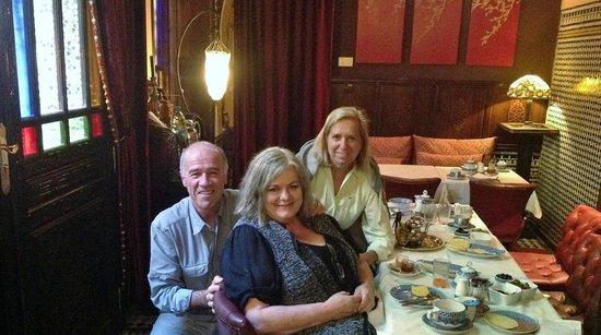 Riad Le Calife : Making friends