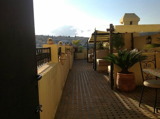 Riad Le Calife : Rooftop terrace
