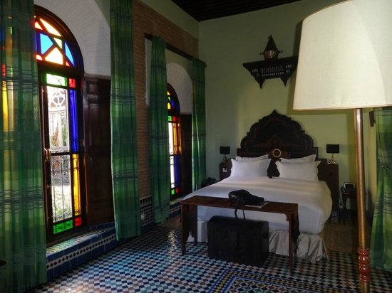 Riad Le Calife: Bedroom Emerald suite