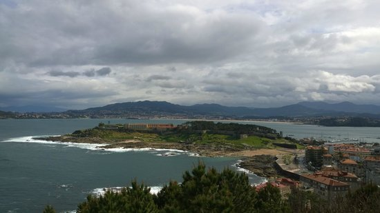 Virgen de la Roca: Vista