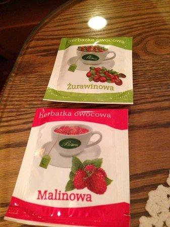 Europejski Hotel: ホテルで飲んだこの紅茶、美味しかった(*^^*)
