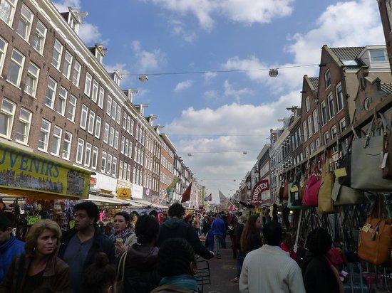 Albert Cuyp Markt : Whole street