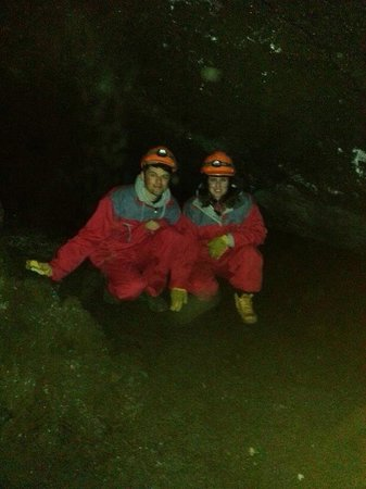 Northern Light Inn : Caving excursion (book at reception - 5 min from hotel)