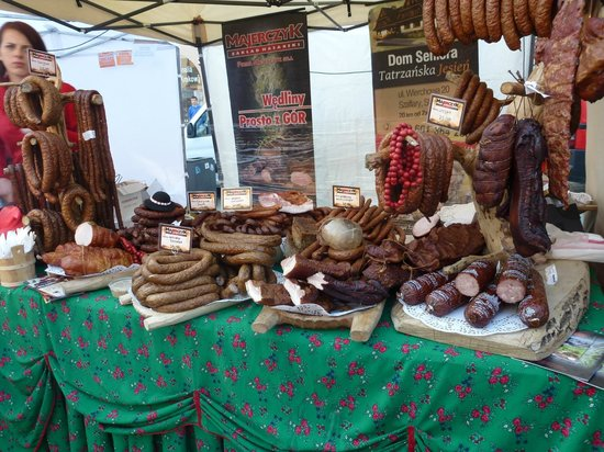 Wawel Hotel: Tasty treats on offer at the local market