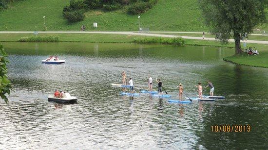 Olympiapark: Прогулка по воде