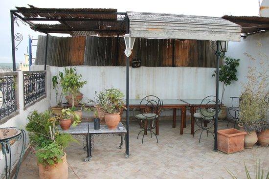 Dar Naima: Terrasse