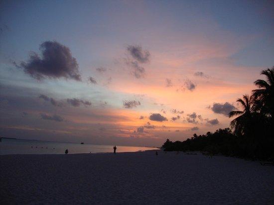 Kuredu Island Resort & Spa: sunset