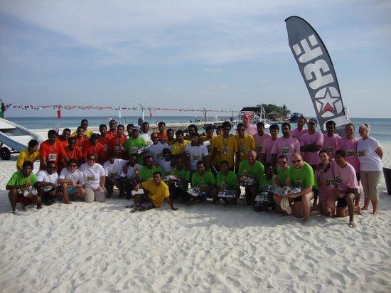 Kuredu Island Resort & Spa: Our team! :)