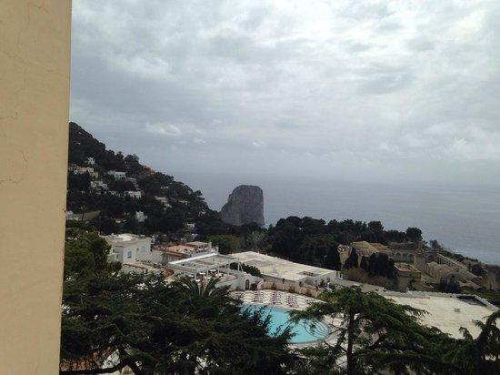 Grand Hotel Quisisana: Vista dalla camera