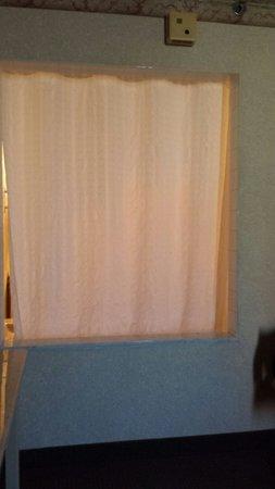 """Comfort Inn Downtown : The door to the bathroom in the """"suite"""""""