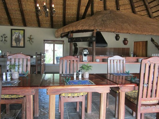 Jackalberry Lodge: Dining Area