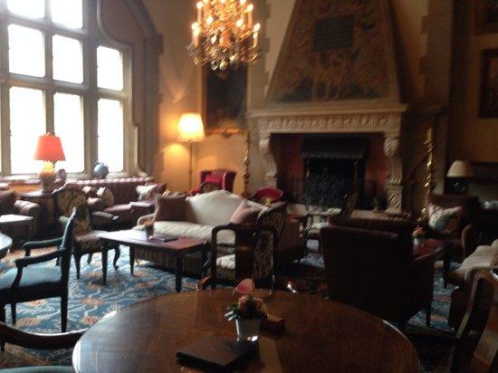 Schlosshotel Kronberg: Reception