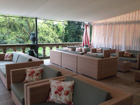 Schlosshotel Kronberg: Terrace
