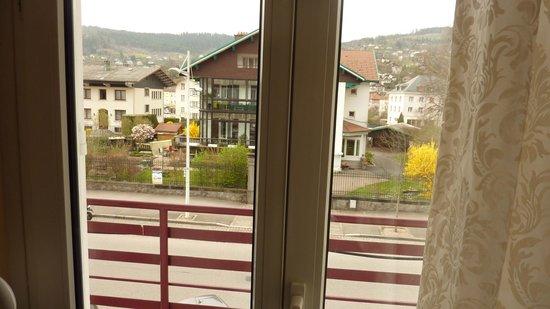 Hotel Des Bains : vue de notre chambre.
