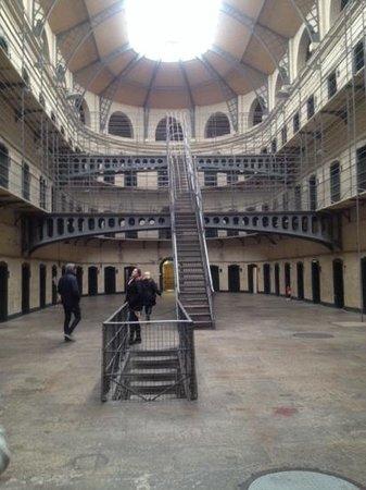 Kilmainham Gaol: the main room