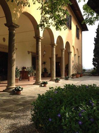 Villa il Poggiale Dimora Storica: Il loggiato