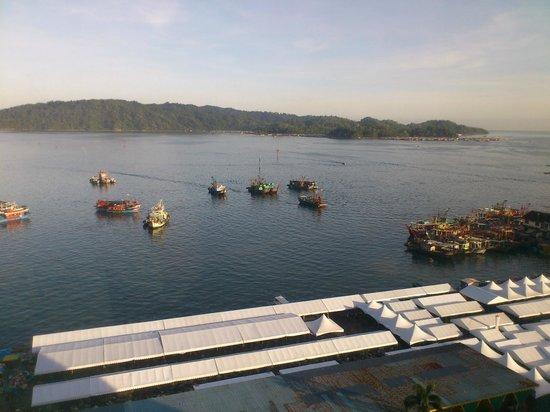Le Meridien Kota Kinabalu: View from my room.