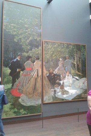 Colazione sull 39 erba monet foto di musee d 39 orsay parigi for Colazione parigi