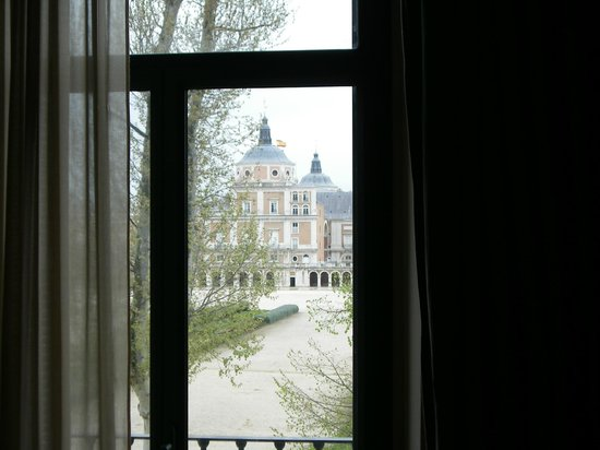 NH Collection Palacio de Aranjuez: Real Sitio desde la habitación