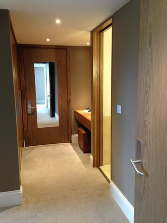 Rudding Park Hotel: Changing area