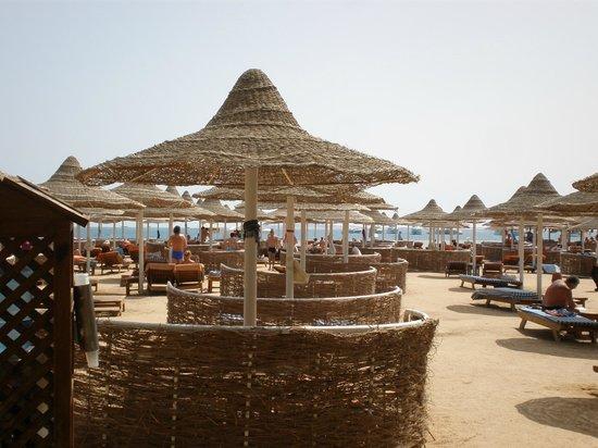 Siva Grand Beach Hotel: On the beach