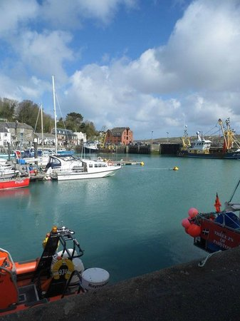 Rick Stein's Cafe: Padstow harbour really is pretty