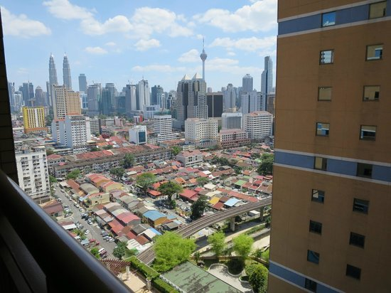 Sunway Putra Hotel : View outside our room