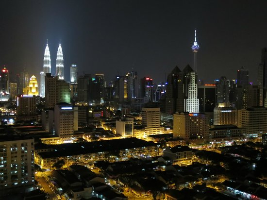Sunway Putra Hotel : Amazing night view!