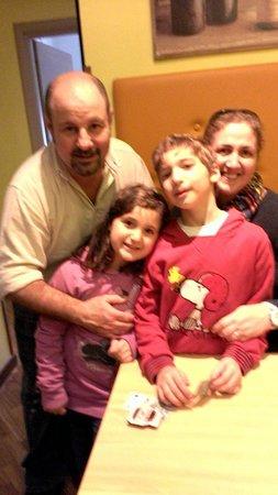 B&B Bibi e Romeo's Home: Romeo and his family!
