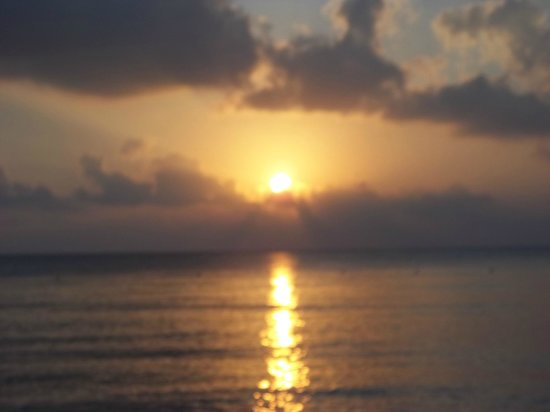 Sunscape Sabor Cozumel: sunset