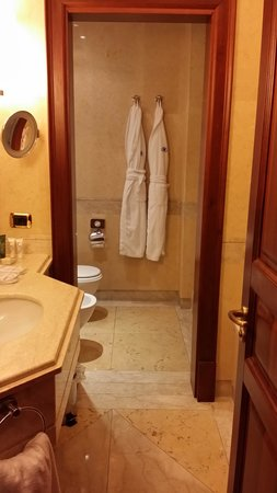 Mercure Palermo Excelsior City : Bathroom