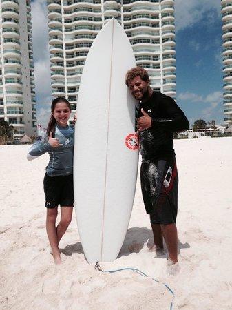 360 Surf School: Great day