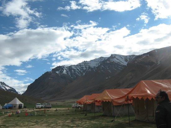 Goldrop Camp Sissu: location of camp site