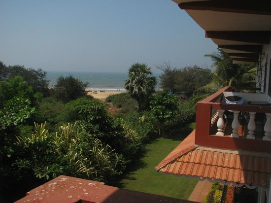 Chalston Beach Resort : view from second floor room S-23