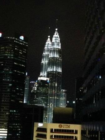 DoubleTree by Hilton Hotel Kuala Lumpur: 廊下からの眺め