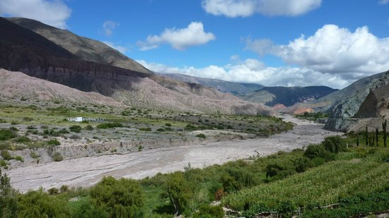 Andes Challenge: On the way to Salta from Salinas Grandes