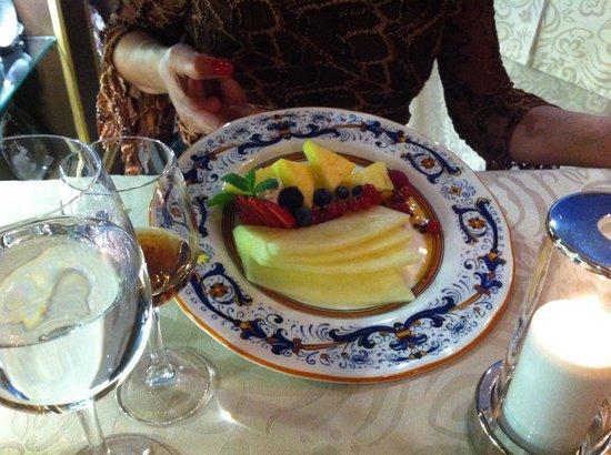Restaurante Goya: Desert