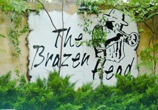 The Brazen Head : Insegna esterna