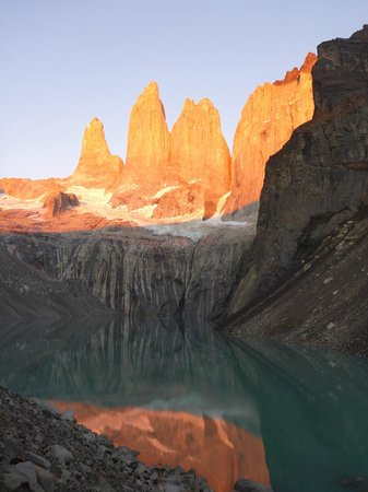 "Torres del Paine National Park: The ""Torres"" at sunrise"
